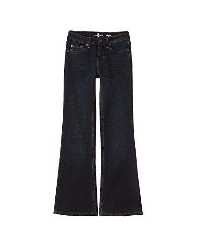 Price comparison product image 7 For All Mankind Big Girls' the Dojo Stretch Denim Trouser Flare Jean, Undisputed, 8