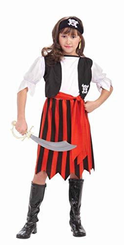 Pirate Lass Child Costume Size -