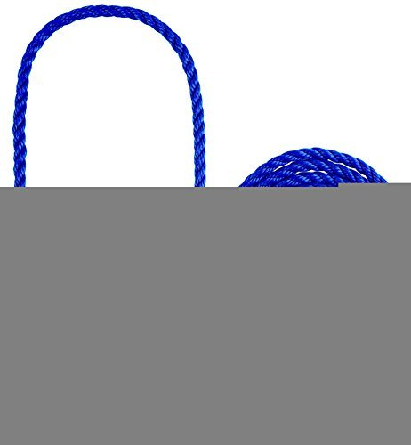 Weaver Leather HLTR Poly Rope Calf BLU - Rope Poly Calf