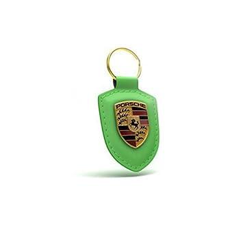 Llavero Porsche metalico y cuero con caja de presentación ...
