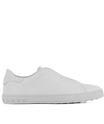 Uomini Tods Xxm0xy0t200nlkb001 Sneakers In Pelle Bianca