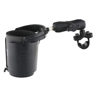 RAM MOUNTS RAM-B132R Drink Cup Holder with U-Bolt Base