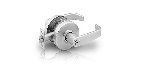 SARGENT 28-7U65-LP-26 PRIVACYCYLINDRICAL LOCK, 7 LINE SERIES: BRIGHT CHROME by Sargent