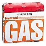 イワタニ カセットガス オレンジ CB-250-OR 3本×16点(48本)