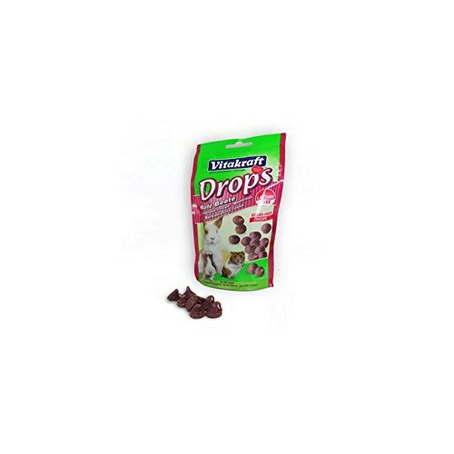 (Vitakraft Drops Beetroot Small Animal Treat (75g))