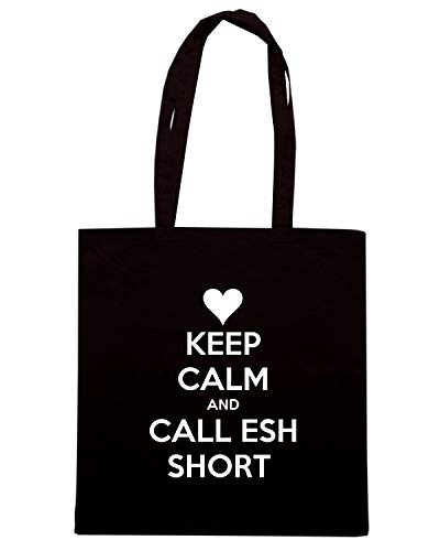 ESH CALM Shirt CALL Borsa KEEP AND TKC1132 Nera Speed SHORT Shopper aF4Oq