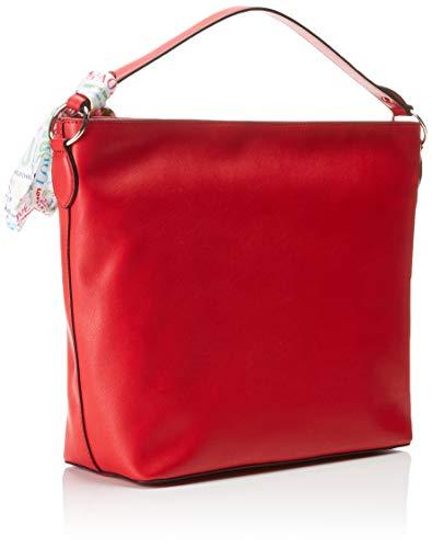 Love w rosso Soft Pu Moschino L 12x31x43 Borsa Mano H Donna Grain X Rosso Cm 6rwB6Eqzx