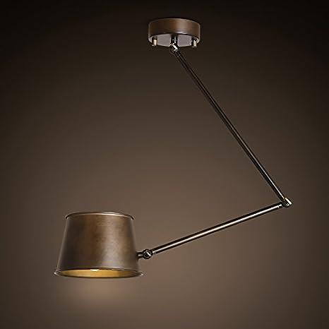 KHSKX Lámpara de techo, lámpara de techo telescópico ...
