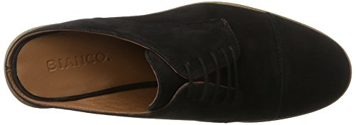 10 de 49276 Black Derby Bianco Sommerhalbschuh Negro Mujer Bianco's Cordones para Zapatos Innovativer 25 ZYYwnOHCq
