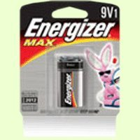 Chase Watch Box - Energizer(R) 9-Volt Alkaline Industrial Batteries, Box Of 12in.