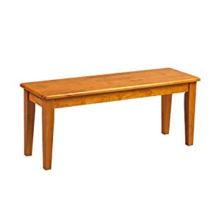 Boraam 36136 Shaker Bench, Oak