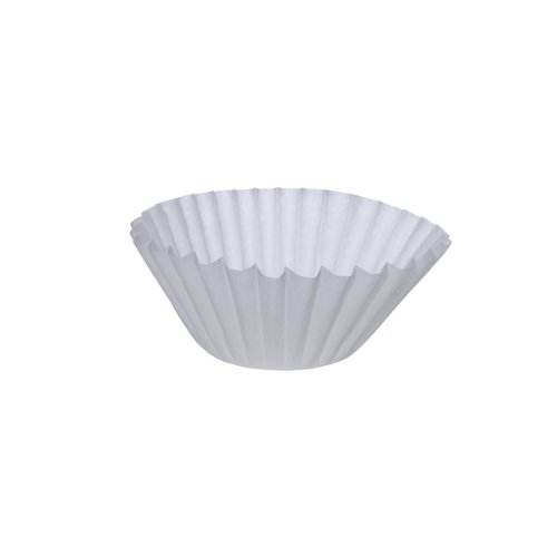 Wilbur Curtis Paper Filters 12.31 X 4.38, 500/Case - Commercial-Grade Paper Filters for Coffee Brewing - CR-12 (Pack of 500) by Wilbur Curtis