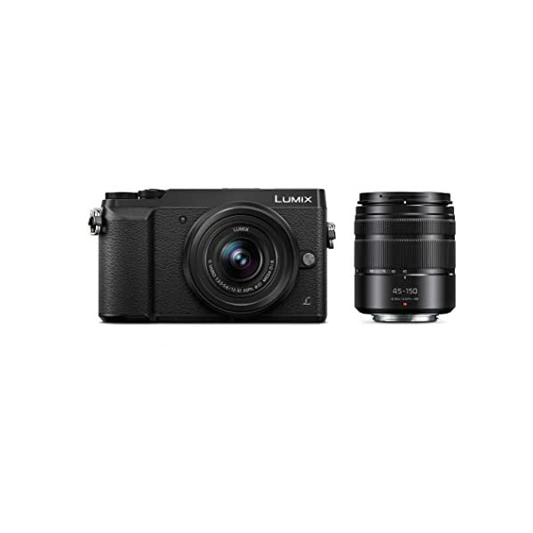 31mJZDx7IfL. SS600  - Panasonic LUMIX GX85 4K Digital Camera, 12-32mm and 45-150mm Lens Bundle, 16 Megapixel Mirrorless Camera Kit, 5 Axis In…