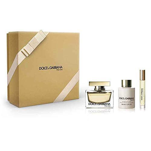 Dolce & Gabbana The One Fragrance Set, 3 Count (Dolce And Gabbana The One For Women)