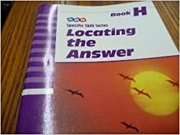 Locating the Answer: Book H by Richard A. Boning (1997-06-01)
