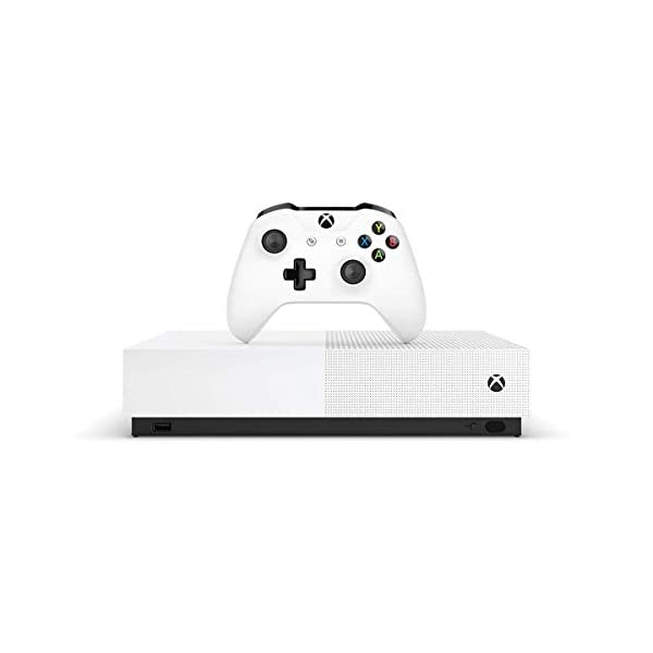 Xbox One S 1TB All-Digital Edition Two Controller Bundle, Xbox One S 1TB Disc-Free Console, 2 Wireless Controllers… 4