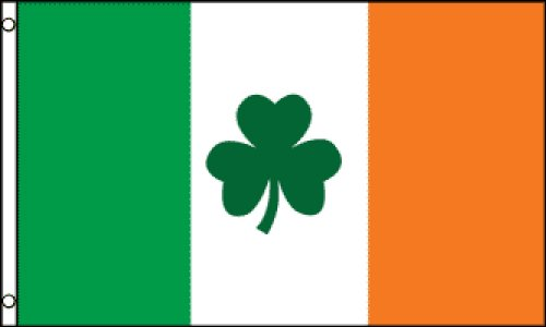 Ireland (Clover) Flag 3x5ft - Ireland Store Euro