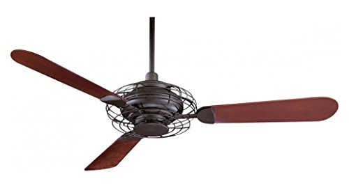 Oil Rubbed Bronze 3 Blade 52In. Ceiling Fan - Light, Wall Control And Blades Included (Acero Ceiling Fan compare prices)