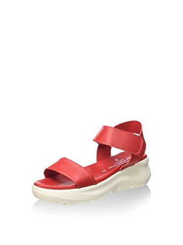 Sandalo Rosso Pefvh9510wca7600 Zeppa Donna Fornarina FwXqx5pTT