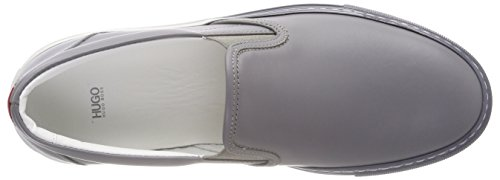 Hugo Greenwich Slip On, Sneaker Infilare Donna Grigio (Medium Grey 036)