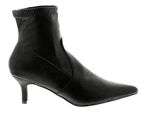 8 Pu Uk Bottines Femmes 3 Mesdames Plus Noir Comfort Carol Tailles 1wqYvx1UH