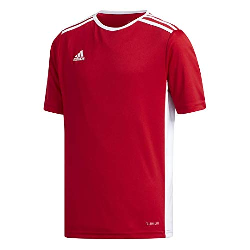 - adidas Youth Entrada 18 Jersey, Power Red/White, Large