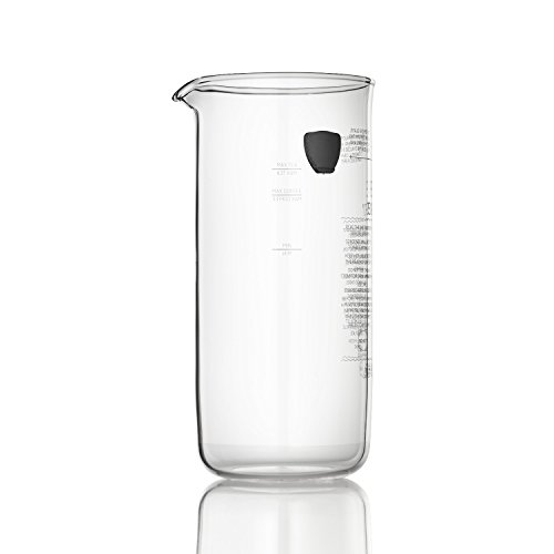 Espro Replacement Glass Carafe for Espro P5 18 oz P3 18oz, Espro, 18 oz