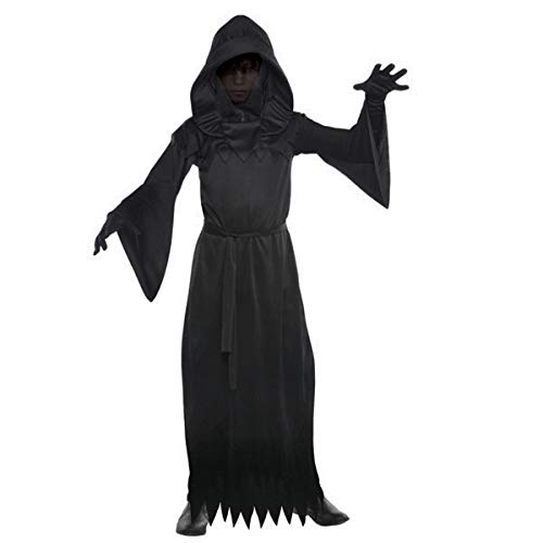 Amscan Boys Phantom of Darkness Costume - Small (4-6) | 2 Ct. Black]()