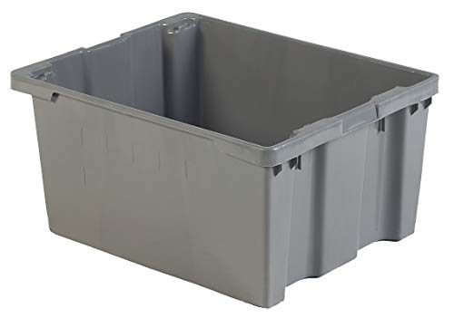 Lewisbins Stack and Nest Container, High Density Polyethylene, 30-1/8