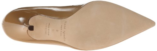 Kate Spade New Womens York Pompa Liquirizia Nuovo Cammello