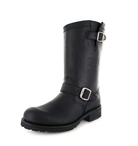 Mayura Boots MB018, Stivali da motociclista unisex adulto Nero (Negro)