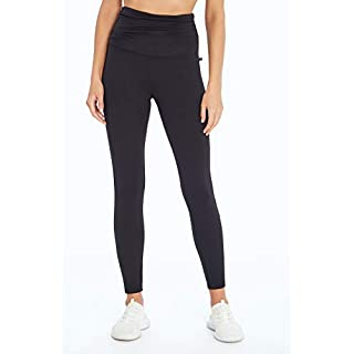 Marika Daria Ultra High Rise Ankle Legging, Black, Medium