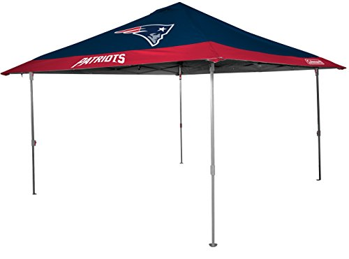 NFL New England Patriots Unisex 07561076111NFL 10x10 Eaved Canopy (All Team Option), Blue, -