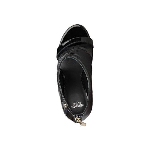 Versace - Sandalias de vestir para mujer Negro - negro