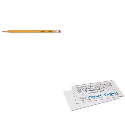 KITPAC74720UNV55400 - Value Kit - Pacon Chart Tablets w/Manuscript Cover (PAC74720) and Universal Economy Woodcase Pencil (UNV55400) (Chart Pac74720)
