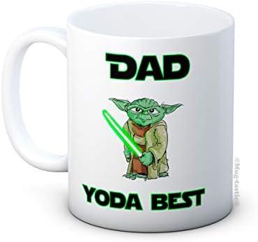 Dad Yoda BestStar Warsgrappige hoogwaardige koffiemokgeweldig cadeau voor papa