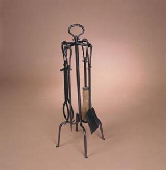 5 Piece Natural Wrought Iron Loop Tool Set 32'' (5 Piece Natural Wrought Iron)