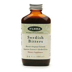 Flora Swedish Bitters, Alcohol-Free 3.4 fl oz (100 ml)