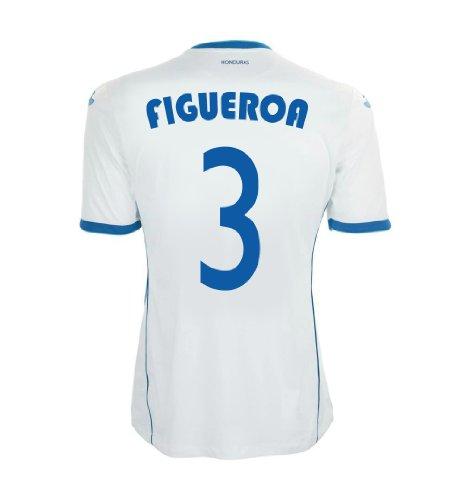 セブン接尾辞社員Joma Figueroa #3 Honduras Home Jersey World Cup 2014/サッカーユニフォーム ホンジュラス代表 ホーム用 背番号3 フィゲロア
