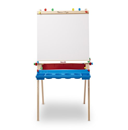 Melissa & Doug Personalized Deluxe Standing Art Easel Toy Toy by Melissa & Doug