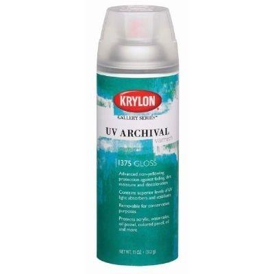 3 Pack UV Archival Varnish Spray Gloss (Product Catalog: Adhesives, Fasteners & Finishing Sprays)