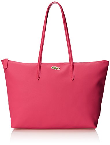 Lacoste Womens L.12.12 Concept Large Shopping Shoulder Bag Petunia Pink One Size