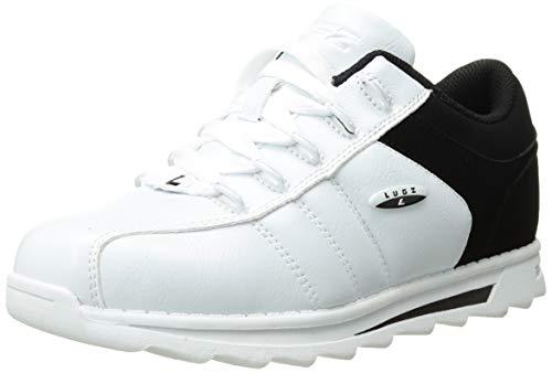 Lugz Men's Mondo Sneaker, White/Black, 11 D US
