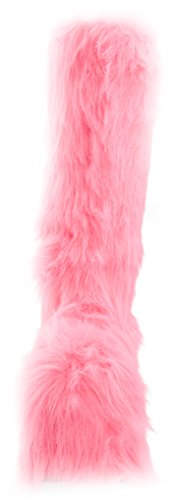 Ellie Shoes womens 500-fuzz Pink q5kQN4FXol
