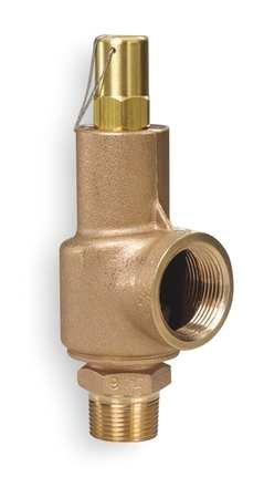 Safety Relief Valve, 2 x 2-1/2 In, 125 psi (Valve Aquatrol Relief)