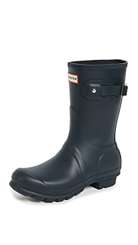 Hunter Women's Original Short Rain Boot Navy Matte