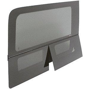 (CRL 2007+ OEM Design All Glass Look Sprinter Van Dual-Vent Passenger Side Rear Quarter Panel Window for 170