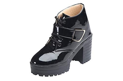 Sapin Women's Patent Black Boots