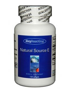 Allergy Research Group NATURAL SOURCE E,SOFTGELS 120 by Allergy Research Group