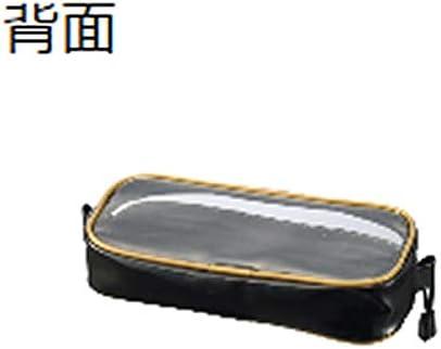 がまかつ(Gamakatsu) フィッシングポーチ M ブラック/レッド GM3583